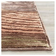 Taupe/Beige Abstract Loomed Area Rug - (8'X10') - Safavieh, Brown Beige, Durable