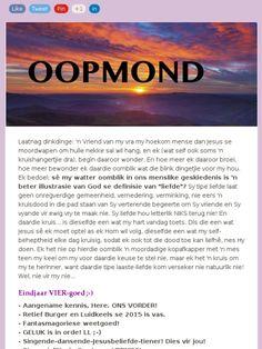 OOPMOND: Weetgoed van epidermiese proporsies! Van, Vans