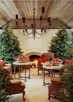 holiday decor veranda