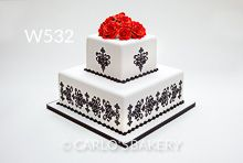 Carlo's Bakery Wedding Cake, W532