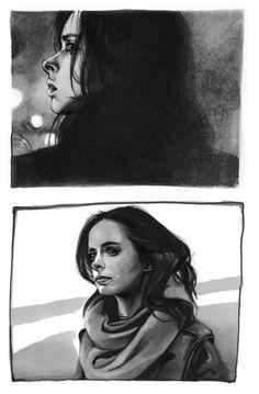 Jessica Jones: People distract me.