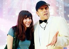 Sky High - Coach Boomer (Bruce Campbell) and Gwen (Mary Elizabeth Winstead)