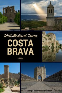 Things to do in Costa Brava, Spain: visit 5 Medieval towns for great photographs including all of the hidden spots for the best pictures! Travel in Europe.