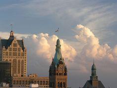 Milwaukee City Hall, Downtown Milwaukee
