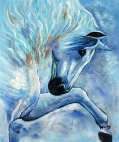 Nice oil paintings on canvas - horse