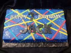Laser Tag Birthday Cake | Birthday - Themed Cakes - Laser Tag & Paintball