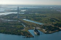 San Jacinto monument and battle grounds  also USS Texas