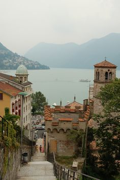 Lugano, Ticino, Switzerland. Gorgeous place! Inspiration for our wedding!