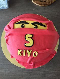 Ninja, fondant cake, birthday child