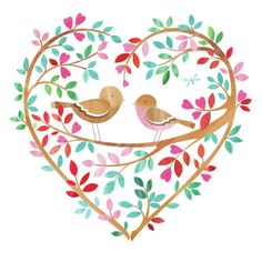 psd, Helen Rowe, Representing leading artists who produce children's and decorative work to commission or license. I Like Birds, Cute Clipart, Doodle Drawings, Work Inspiration, Heart Art, Valentine Crafts, Pyrography, Pretty Pictures, Art Boards