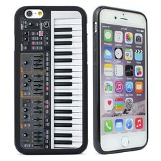 Vintage Piano Silicone Case Cover for iPhone 4s 5 5s SE 5C 6 6s Plus Phone Case