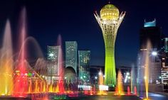 Kazakhstan calling: a jaw-dropping trip to Astana As the country gears up for its Expo 2017, the astonishing architecture in its capital blows Sankha Guha's mind, The Guardian, via @topupyourtrip