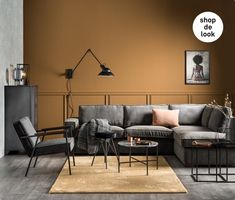 wk1839_Inspiratie_donkere_woonkamers_aaibare_materialen Home Living Room, Living Room Decor, Living Spaces, May House, Ceiling Design Living Room, Small Apartment Decorating, Home And Deco, Room Colors, Room Decor Bedroom