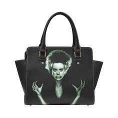 bride_of_frankenstein Classic Shoulder Handbag (Model 1652)