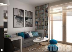 niebieski-salon - zdjęcie od MIKOŁAJSKAstudio - Salon - Styl Nowoczesny - MIKOŁAJSKAstudio