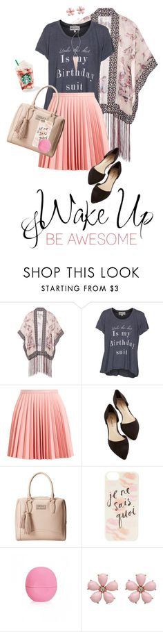 """be awesome"" by bekah238 ❤ liked on Polyvore featuring Anna Sui, Wildfox, J.W. Anderson, Love Moschino, Kate Spade, WALL and Jules Smith"
