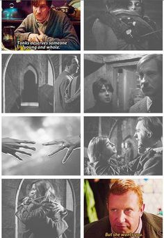Lupin and Tonks, the most underrated love story in HP. They're my favorite couple in the entire series! ^_^