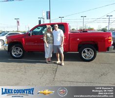 #HappyAnniversary to Darlene White on your 2013 #Chevrolet #Silverado 1500 from Michael Ridenhour  at Lake Country Chevrolet Cadillac!