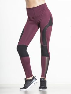 Cool Rider in Maroon Combo by Free People Movement from Carbon38