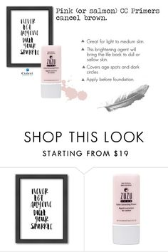 """""""Zuzu Luxe Anti-Dullness Color Corrector"""" by jeanamelia on Polyvore featuring beauty and Americanflat"""