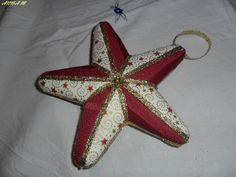 ago&filo: Stella di Natale Patchwork