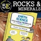 Rocks and Minerals: Earth Science Interactive Notebook