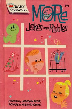 More Jokes and Riddles (a Wonder Books Easy Reader) compiled by Jonathan Peter, illustrated by Albert Aquino