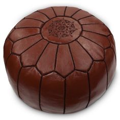 Have to have it. Moroccan Ottoman - Chocolate - $154 @hayneedle.com