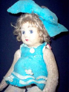 Pupa The haunted Doll.  The original owner had it from the age of 5 or 6 (1920's) until she died in July of 2005. The doll survived World War II, and many, many close calls to it's destruction over the years. The owner cherished it always through out her long life. The doll traveled from Italy to the United States then back to Italy and across Europe and finally to the USA once again where it is now. (click for complete story!)