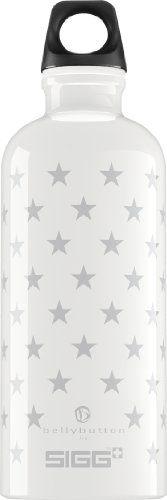 Sigg Trinkflasche Bellybutton, weiß, 0.6 Liter, 8398.10