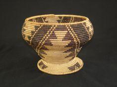 A Maidu Stem Bowl Bowl Native American Indian Basket Circa 1915 | eBay