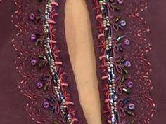 Resultado de imagen para bordados en hilo perle