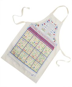 Seasonal Guide To Fruit and Vegetables Apron