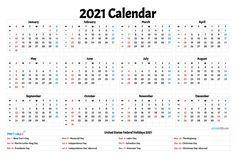 Printable Yearly Calendar, Daily Calendar Template, Holiday Calendar, Weekly Calendar, Print Calendar, Kids Calendar, 2021 Calendar, Blank Calendar, Monthly Calendars