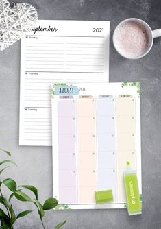 This collection of Weekly Planners Layout Templates help you start planning your life more efficiently. Easy and affordable way to organize your life! Choose the pattern that works best for you and will help organize your notes, ideas, lists. Timetable Planner, Weekly Hourly Planner, Time Planner, Planner Layout, Blank Calendar Template, Planner Template, Weekly Meal Plan Template, Best Planners, Best Templates