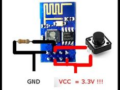 #esp8266 DIY GoPro remote | euerdesign