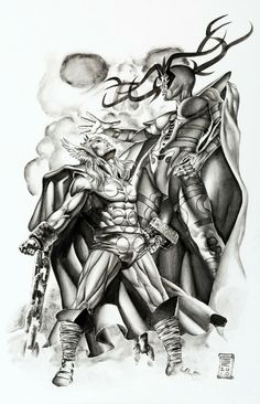 Thor and Hela