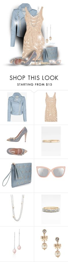 """Nudie Blues"" by rockreborn ❤ liked on Polyvore featuring IRO, Philosophy di Alberta Ferretti, L'Autre Chose, Sequin, ASOS, David Yurman, Elsa Peretti and Betsey Johnson"
