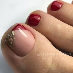 Art Ideas That Inspire You - Page 4 of 14 - Dazhimen . - Nails -Beautiful Toenail Art Ideas That Inspire You - Page 4 of 14 - Dazhimen . - Nails - The Best Nail Art Designs Compilation. 40 amazing toe nail colors to choose for next season page 41 Pretty Toe Nails, Cute Toe Nails, Gold Toe Nails, Feet Nail Design, Toe Nail Designs, Art Designs, Design Ideas, Toe Nail Color, Toe Nail Art