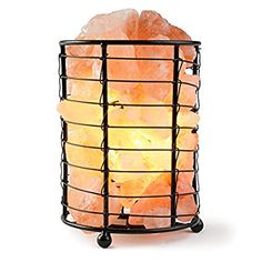 Natural Therapeutic Healing IONES Crystal Lamp Bedside Table Lamp Bed Therapy