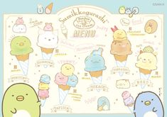 Cute Food Drawings, Cute Kawaii Drawings, Cool Art Drawings, Kawaii Art, Sanrio Characters, Cute Characters, Manga Cute, Kawaii Doodles, Kawaii Shop