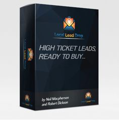 Local Lead Drop is AMAZING Product created by Robert Dickson. Local Lead Drop is TOP Complete Training to Getting High Ticket Leads and RED HOT leads dropping into YOUR Inbox for GET HUGE PROFITS. The Local Lead Drop training is a complete guide to getting RED HOT leads dropping into YOUR Inbox just like us. Then we show you how to convert those leads like clockwork and turn them into longtime paying clients. We even show you how to expand your business rapidly using systematic referral…