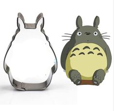 1 pcs Totoro Cartoon Cookie Cutter DIY Stainless Steel Biscuit Mold cake cookies mold Decorative Tools