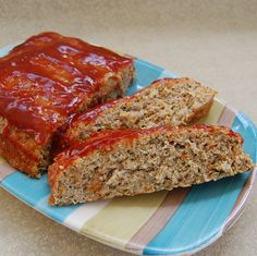 Gluten-Free Quinoa Turkey Meatloaf that is so good my family prefers it to the traditional version with gluten!
