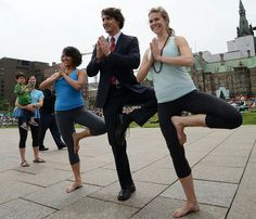 Our new Prime Minister Justin Trudeau & wife Sophie Gregoire-Trudeau... I just love this!!!