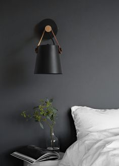 Nodic Wooden Hanging Wall Lamp is a contemporary countryside design. It is made from a iron shade (bent under high temperature) and a wooden handle. Add contemporary nordic styles into any room of your resident space with these wooden hanging wall lamp. Wooden Wall Lights, Loft Style, Bedside Wall Lamp, Wall Lamp, Wood Wall Lamps, Wooden Lanterns, Black Walls, Home Decor, Black Wall Lamps
