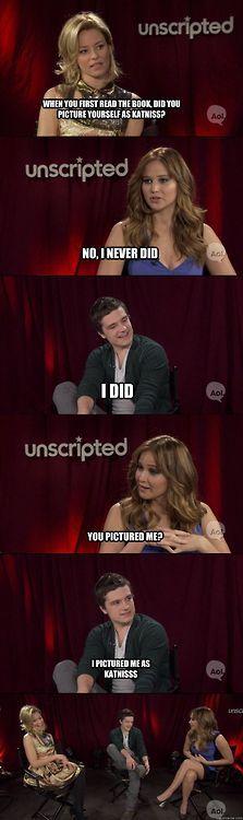 Josh is.. so.. funny.
