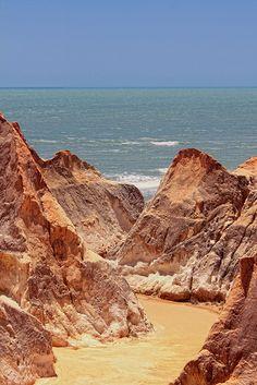 Morro Branco Beach, Beberibe, Ceará | Brazil