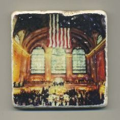 Grand Central Station in New York City  Original by re4mado, $14.99