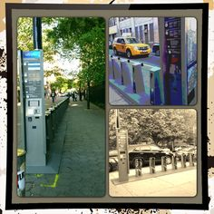 Just a few Citi Bike Stations we found in Downtown NYC.